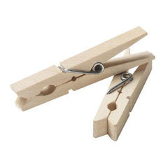 50 ct. Wood Clothespins