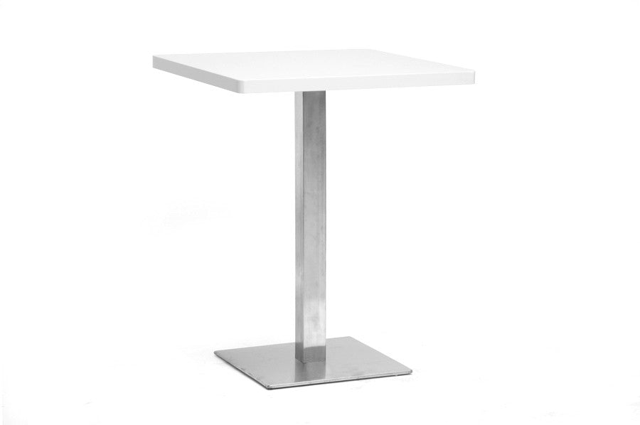 Baxton Studio Monaco Small Square Bistro Table