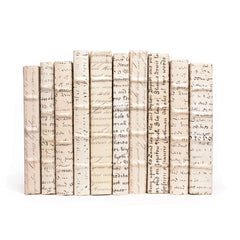 Linear Foot of Antique Vellum Script Books