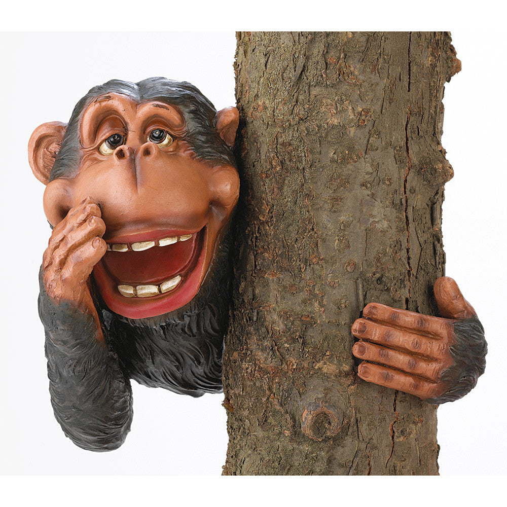 Hide & Seek Monkey Tree Decor