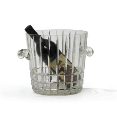 Lawrence Glass Ice Bucket