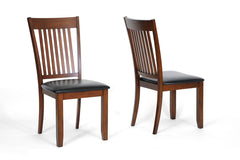Baxton Studio Rachel Modern Dining Chair in Set of 2