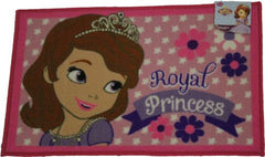 Childrens Area Rug, Bath Mat, Sofia the First Design