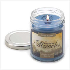 Good Karma Unexpected Miracles Candle