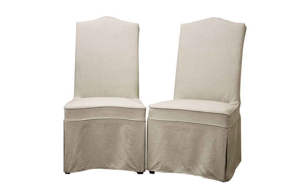 Baxton Studio Coralie Dining Chair in Set of 2