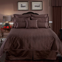 BRAXTON FULL SIZE COMFORTER SET IN CHOCOLATE