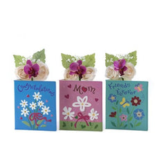 Sentimental Greeting Card Vases