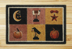 Autumn Patch Wicker Weave Rug