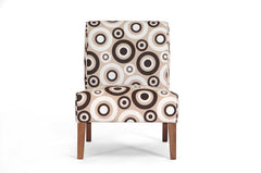Baxton Studio Davis Tan Fabric Accent Chair