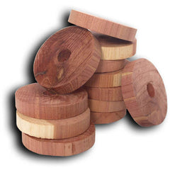 20pc Cedar Rings for Hangers