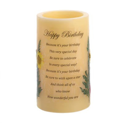 """Birthday"" Heartnotes Candle"