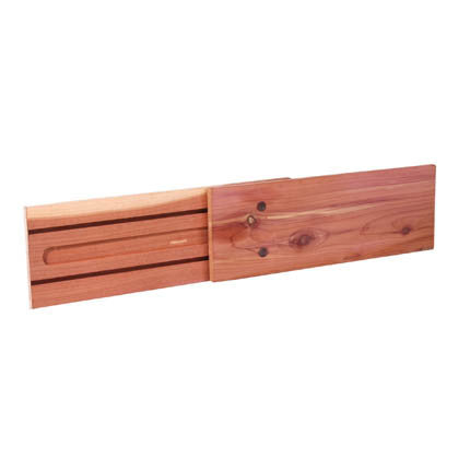 2 pk. Tension-mount Cedar Drawer Dividers