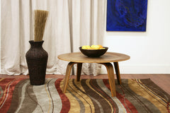 Baxton Studio plywood Coffee Table in Walnut