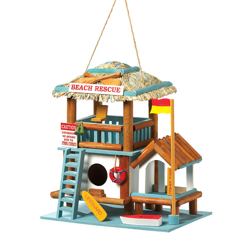 Lifeguard Station Birdhouse