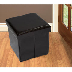 Anzy Folding Ottoman with Storage In Different Colors