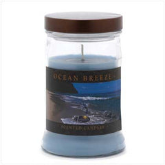 Ocean Breeze Jar Candle