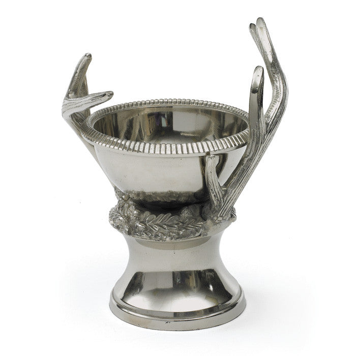 Polished Antler Aluminum Bowl