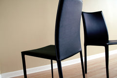 Baxton Studio Rockford Leather Dining Chair