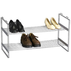 Stackable 2-Tier Shoe Rack
