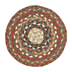 Honey/Vanilla/Ginger Braided Rug In Different Shapes And Sizes