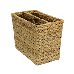 Banana Leaf Wicker Magazine Rack