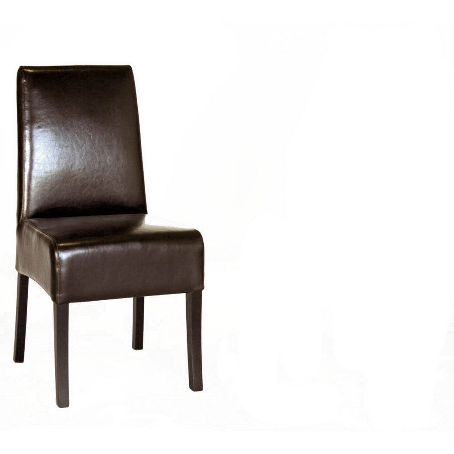 Baxton Studio Full Leather Dining Chair