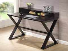 Baxton Studio Fargo Dark Brown Modern Desk