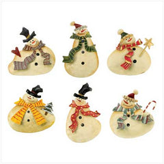 Cheerful Snowman Magnets 3 DZ