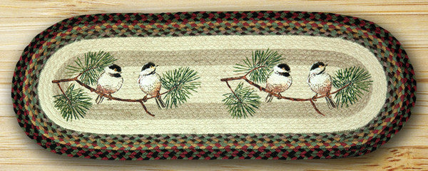 Chickadee Oval Patch Runner