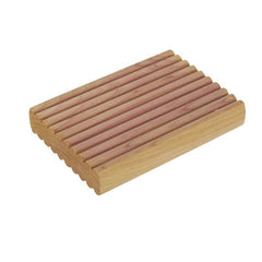 8ct Solid Cedar Blocks with Decorative Milled Surface