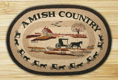 Amish Country 360 Hand Printed Rug