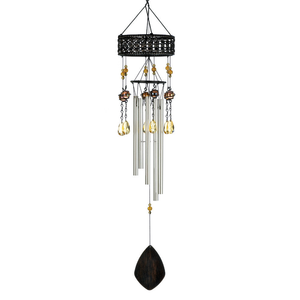 Topaz Sunset Windchime