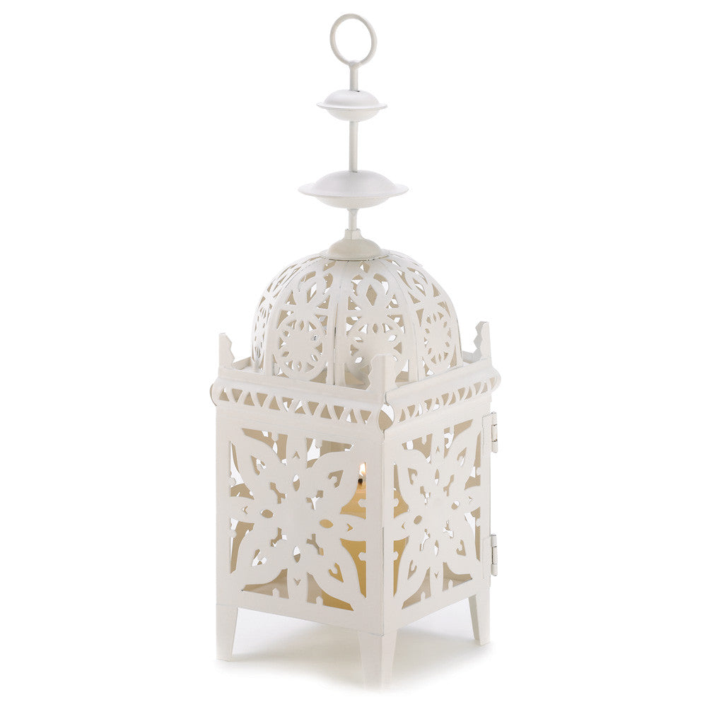 Medallion Candle Lantern