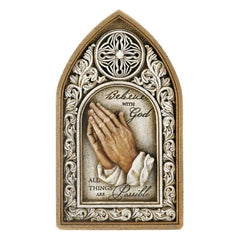 Believe With God Wall Plaque