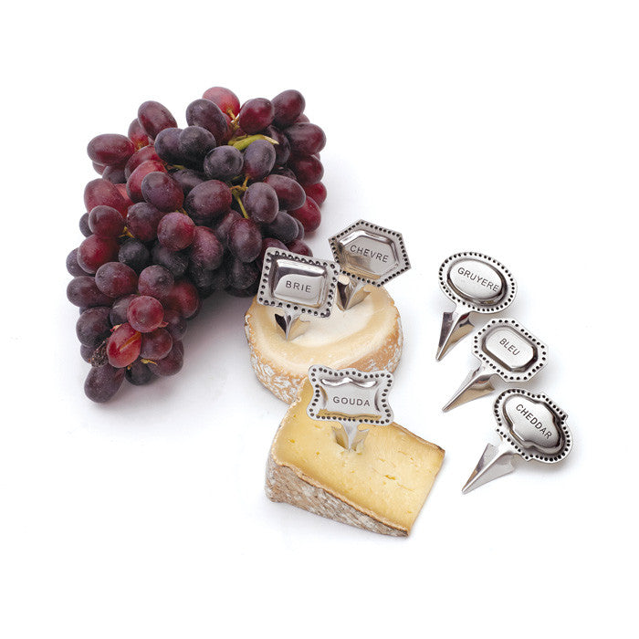 Aluminum Tags Cheese Marker Set