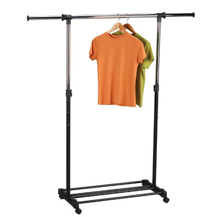 Extendable Rolling Garment Rack