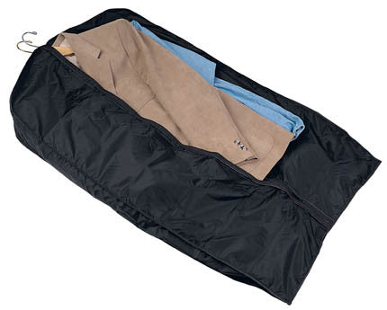 Black Garment Suit Bag with outer pockets