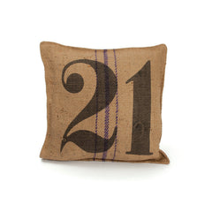 Vintage Sack Pillow # 21- Set Of 2