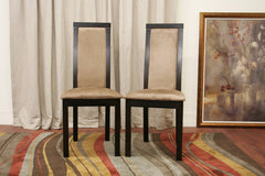 Baxton Studio Pollard Dining Chair in Set of 2