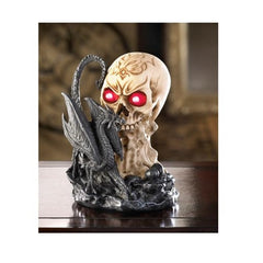 Dragon Skull Lighted Figurine