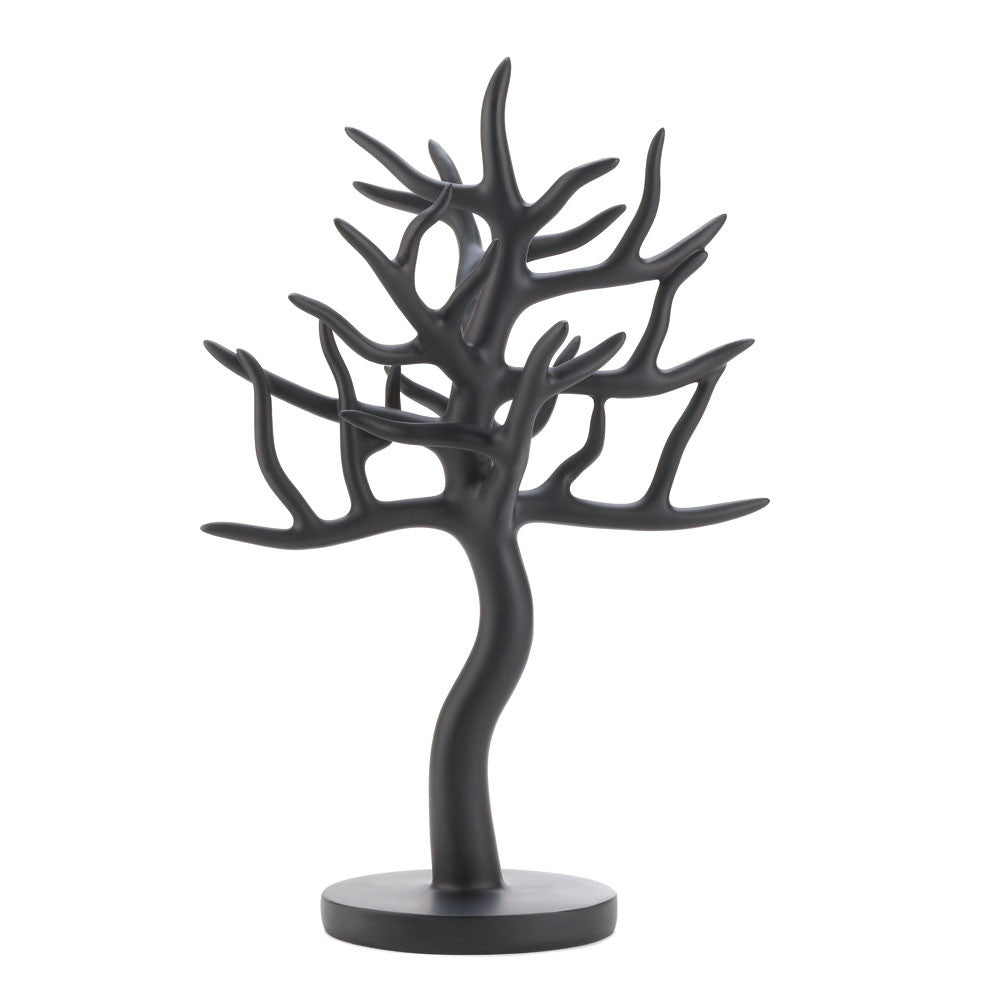 Black Tree Jewelry Stand
