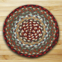 Thistle Green/Country Red Miniature Swatch In Different Sizes And Shapes