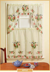 Beautiful Sheradian 3 Pc Printed Kitchen Curtain Set