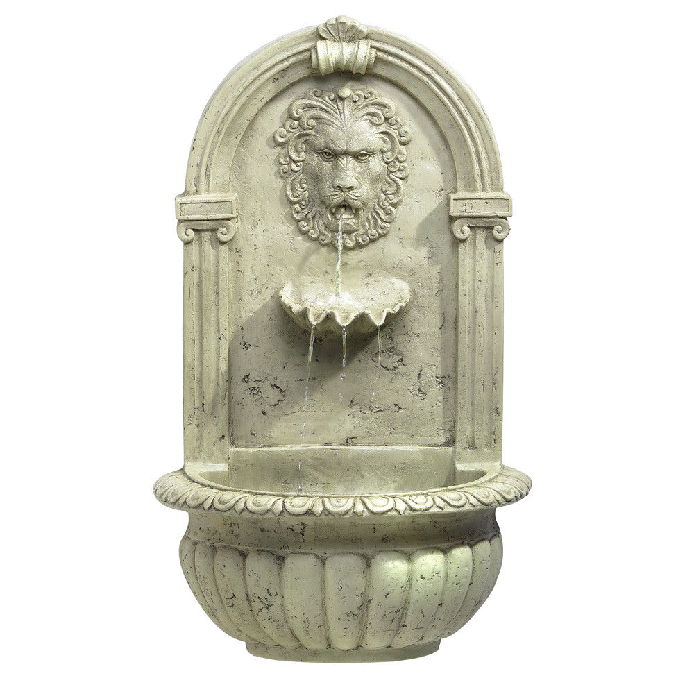Lion Head Water  Fountain