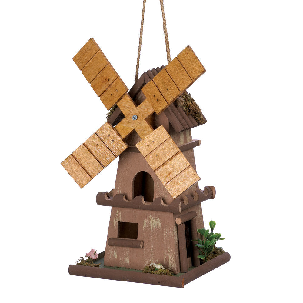 Whimsical Windmill Birdhouse