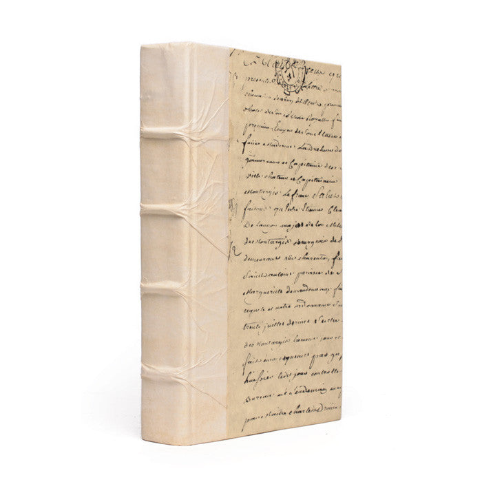 Single Solid Ivory Book