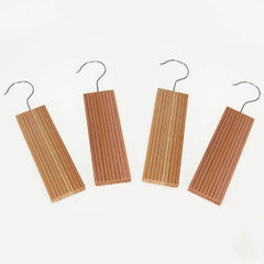 6 pc. Lavender-infused Cedar Hang Up with Decorative Milled Surface