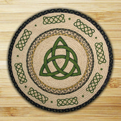 Irish Knot Round Patch Rug