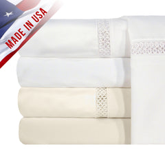 1200TC PRINCETON COLL PILLOWCASE PAIR IN DIFFERENT SIZES AND COLORS