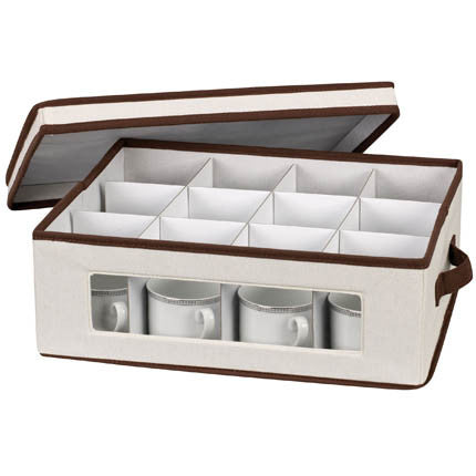 Holiday China Cup Storage Box In Different Colors